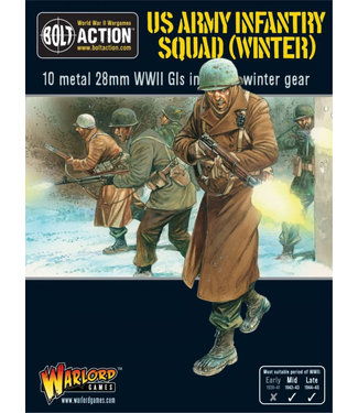 Bolt Action US Army infantry squad (winter)