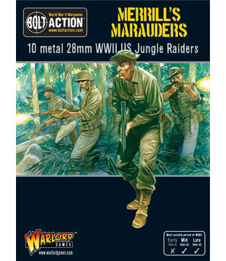 Bolt Action Merrill's Marauders