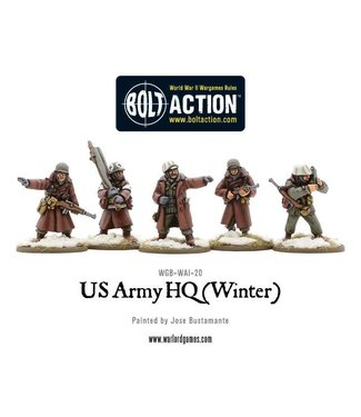 Bolt Action US Army HQ (Winter)