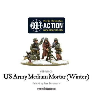 Bolt Action US Army medium mortar (Winter)