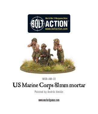 Bolt Action USMC 81mm mortar