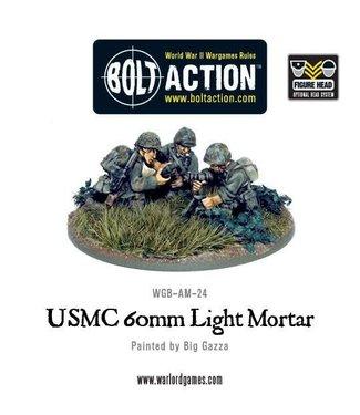 Bolt Action USMC 60mm light mortar