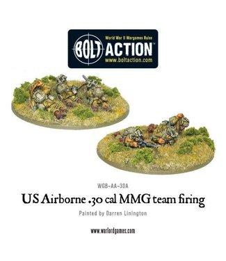 Bolt Action US Airborne 30 Cal MMG team firing