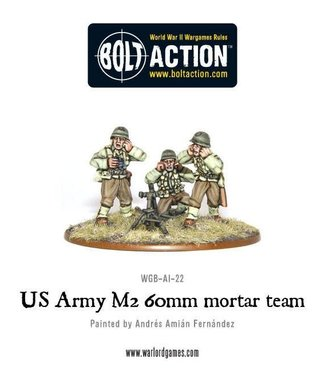 Bolt Action US Army 60mm mortar team