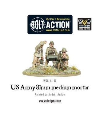 Bolt Action US Army 81mm medium mortar