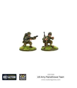 Bolt Action US Army flamethrower team