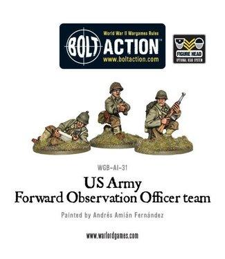 Bolt Action US Army FOO team