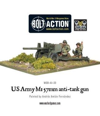 Bolt Action US Army M1 57mm anti-tank gun