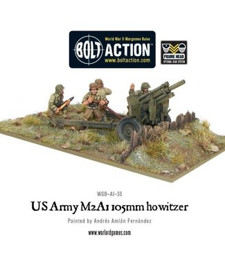 Bolt Action US Army M2A1 105mm howitzer