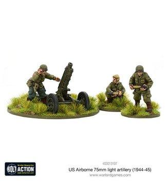 Bolt Action US Airborne 75mm light artillery (1944-45)