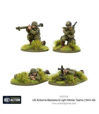 Bolt Action US Airborne Bazooka & light mortar teams (1944-45)