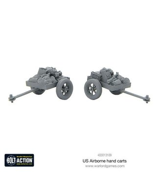 Bolt Action US Airborne hand carts