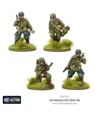 Bolt Action US Airborne HQ (1944-45)
