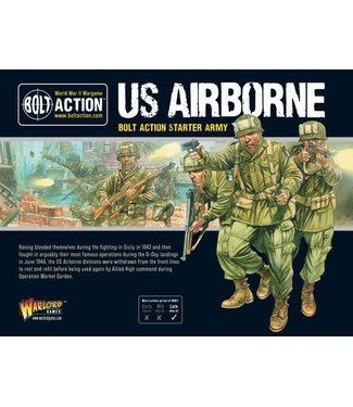 Bolt Action US Airborne starter army