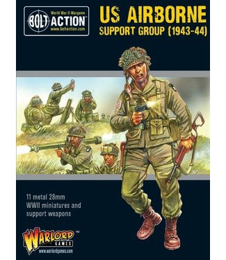 Bolt Action US Airborne support group (1943-44)