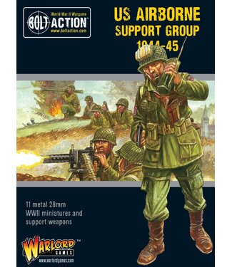 Bolt Action US Airborne support group (1944-45)