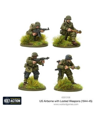 Bolt Action US Airborne with looted German weapons (1944-45)