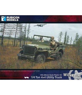 Rubicon Models Willys MB ¼ ton 4x4 Truck (US Standard)
