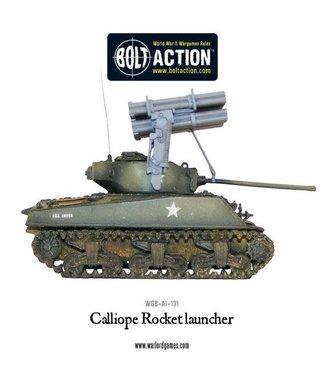 Bolt Action Calliope multiple rocket launcher