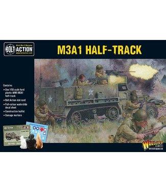 Bolt Action M3A1 Half-track plastic boxed set