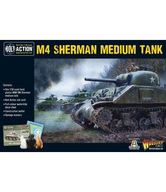 Bolt Action M4 Sherman medium tank (plastic)