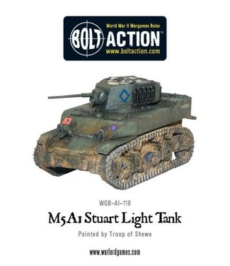 Bolt Action M5A1 Stuart light tank Box Set