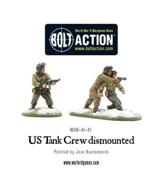 Bolt Action US Tank Crew dismounted