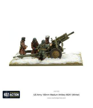 Bolt Action US Army 105mm Medium Artillery M2A1 (Winter)