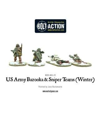 Bolt Action US Army Bazooka and Sniper teams (Winter)