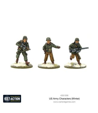 Bolt Action US Army Characters (Winter)