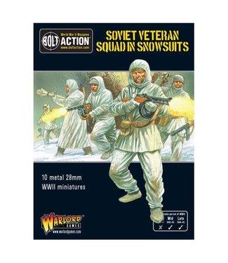 Bolt Action Soviet Veteran Squad in Snowsuits
