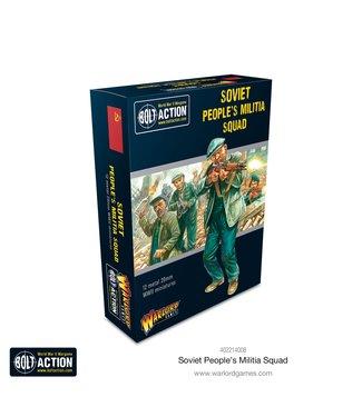 Bolt Action Soviet Peoples Militia squad