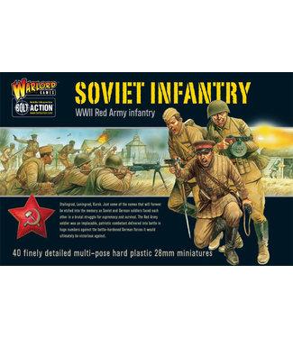Bolt Action Soviet Infantry plastic box set
