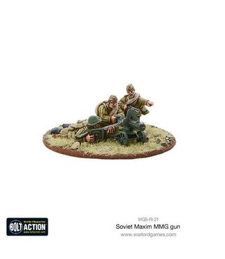Bolt Action Soviet Maxim MMG Team