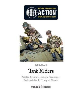Bolt Action Soviet Tank Riders