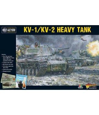 Bolt Action KV1/2 Plastic + 8 tank riders