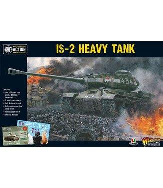 Bolt Action IS-2 Heavy Tank + 8 tank riders
