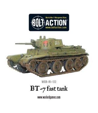 Bolt Action BT-7 fast tank