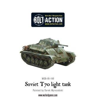 Bolt Action Soviet T70 Light Tank