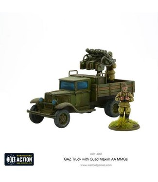 Bolt Action GAZ Truck with Quad Maxim AA MMGs