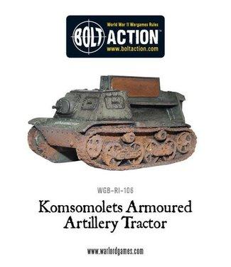 Bolt Action Soviet Komsomolets Armoured Artillery Tractor