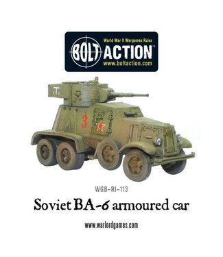 Bolt Action BA-6 armoured car