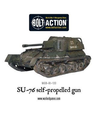 Bolt Action Soviet SU-76 Self-Propelled Gun