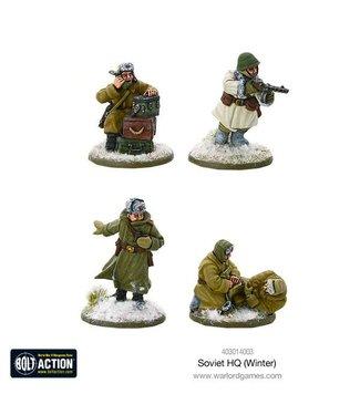 Bolt Action Soviet HQ (Winter)