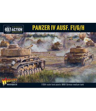 Bolt Action Panzer IV Ausf. F1/G/H
