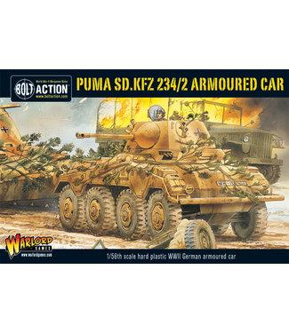 Bolt Action Puma Sd.Kfz 234/2 Armoured Car