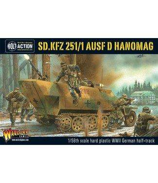 Bolt Action Sd.Kfz 251/1 ausf D halftrack plastic box set