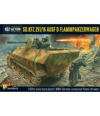 Bolt Action Sd.Kfz 251/16 Flammpanzerwagen plastic box set