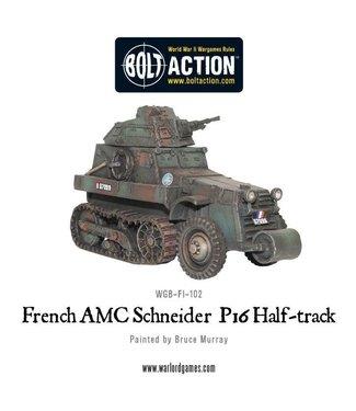 Bolt Action AMC Schneider P16 Half-track