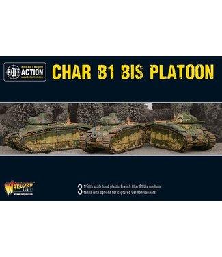 Bolt Action Char B1 bis Platoon